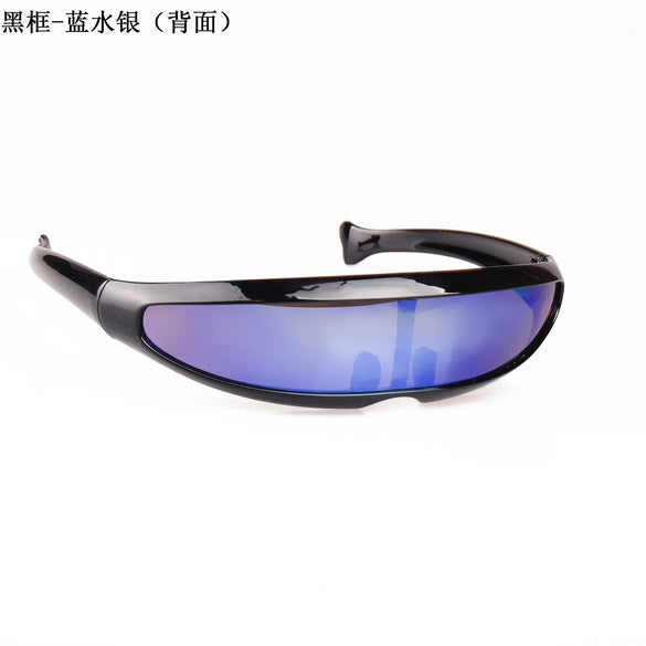 2020 Vintage Narrow Cyclops Sunglasses Women luxurious Personality New Fashion Glasses Funny Mask Decoration Men Sunglasses