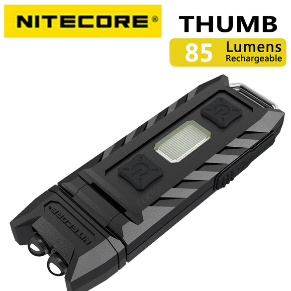 100% Original Factory Price Nitecore Thumb 120 Degrees Tiltable USB Rechargeable Worklight