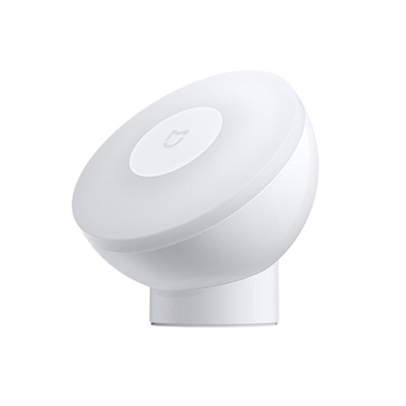 New Xiaomi Mijia Led Induction Night Light 2 360 Rotating Adjustable Brightness Infrared Smart Motion Sensor With Magnetic Base (White)