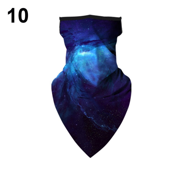 1PC Printing Style Multi-function Magic Scarf Half Face Mask Neck Cover Scarf Anti-UV Cycling Bandana Outdoor Sports Headwear