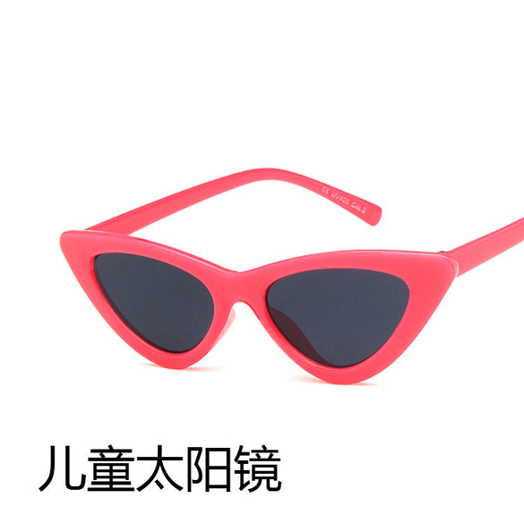 Kids Retro Cat Eye Sunglasses