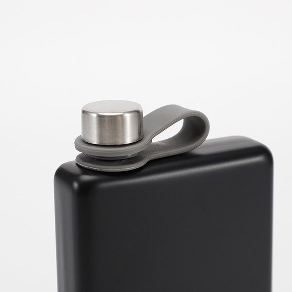 New Design 9 Oz Stainless Steel 304 Hip Flask Whiskey Wine Bottle Alcohol Pocket Flagon For Gifts