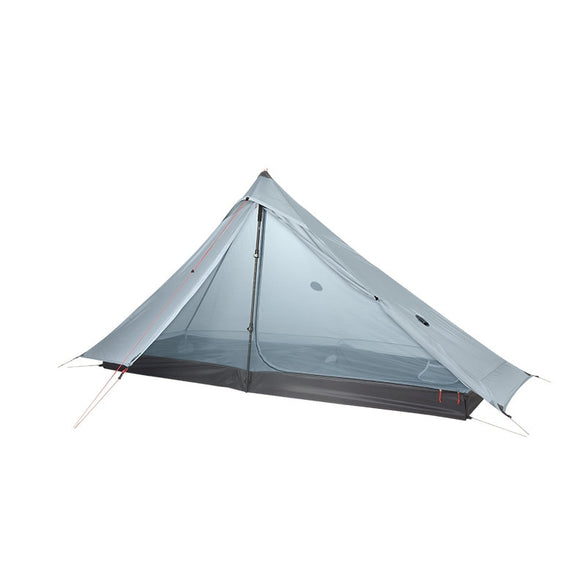 3F UL GEAR Lanshan 1 pro Tent Oudoor 1 Person Ultralight Camping Tent 3 Season Professional 20D Silnylon Rodless Tent