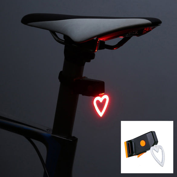Zacro Multi Lighting Modes Bicycle Light USB Charge Led Bike Light Flash Tail Rear Bicycle Lights for Mountains Bike Seatpost