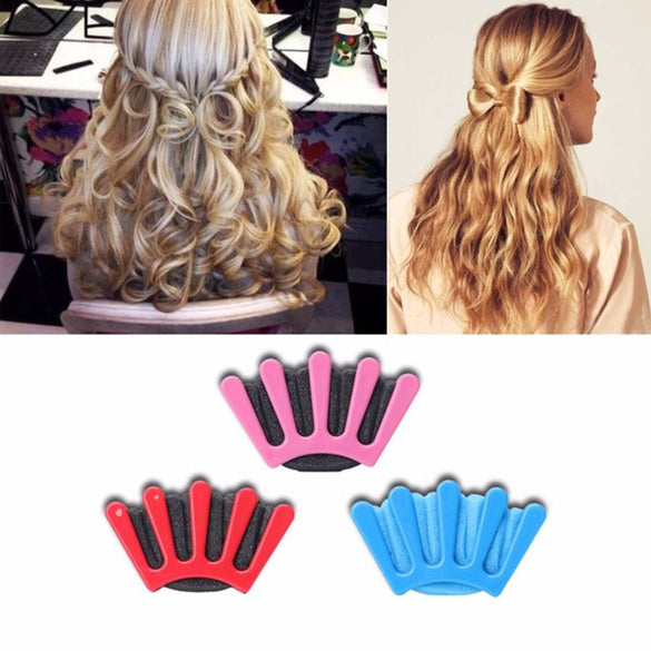 Charming French Style 1pcs Women Girls DIY Sponge Hair Braider Plait Hair Twist Braiding Tool Hair Styling Tools