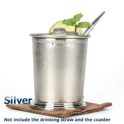 Stainless Steel 360ml Julep Cup Mojito Mint Julep Cup Cocktail Mug