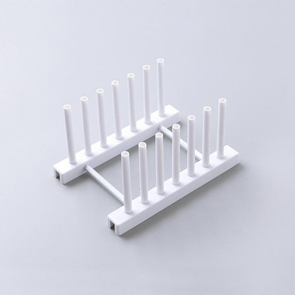 Dish Drying Rack ABS High Quality Multifunctional Cup Rack Kitchen storage stand plate dish supports tableware Accessories