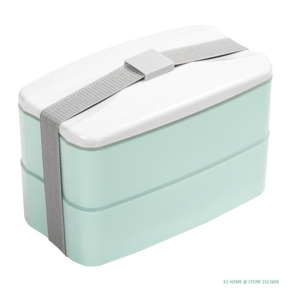Double Layers Lunch Bento Box Meal Prep Container Leakproof Bento Box Dishwasher Microwave Safe Food Storage Box Containers