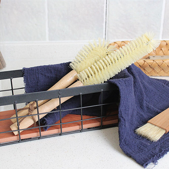 Wooden Cup Mug Cleaning Brush Handle Dishes Bottle Pan Pot Washing Brushes Multifunctional Kitchen Cleaning Accessories Tools