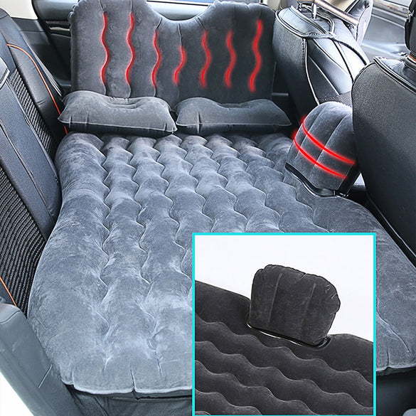 OGLAND Universal Car Back Seat Cover Air Inflatable Travel Bed Mattress For Vehicle New Design Sofa Outdoor Camping Cushion