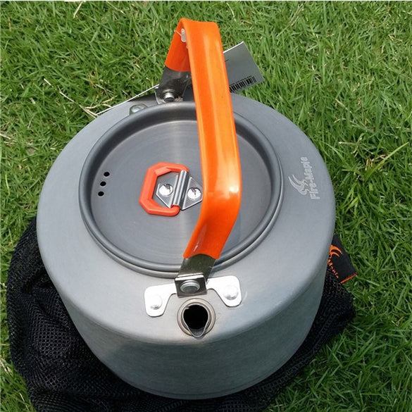 Outdoor Heat Exchanger Kettle For Camping Kettle Aluminum Water Kettle For Gas Cooker Fire Maple FMC-T3