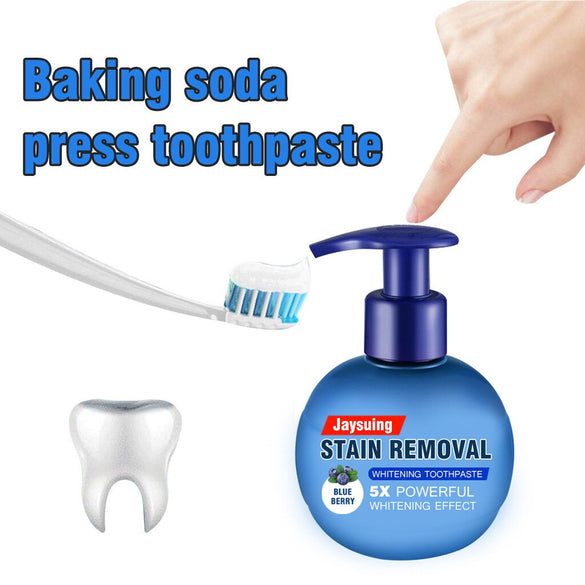 viaty toothpaste Baking soda remove stain whitening toothpaste fight gums toothpaste New Zealand fruit flavor whitening tandpast