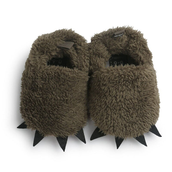 WONBO Cute Modeling Monster Paw Baby Worm Slippers 2019 Winter Baby Shoes First Walkers Photo Props Accessories Baby Clothing