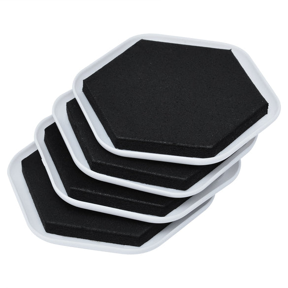 4Pcs Heavy Duty Furniture Moving Sliders Table Moving Pads Floor Protectors House Moving Helper Easy Moving Accessories