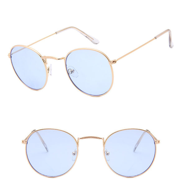 Metal Round Vintage Sunglasses