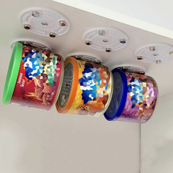 CanLoft  Magnetic Canned Food Hangers Magnetic Save Space In Your Pantry Strong  fashion simple quality Kitchen Wall Door