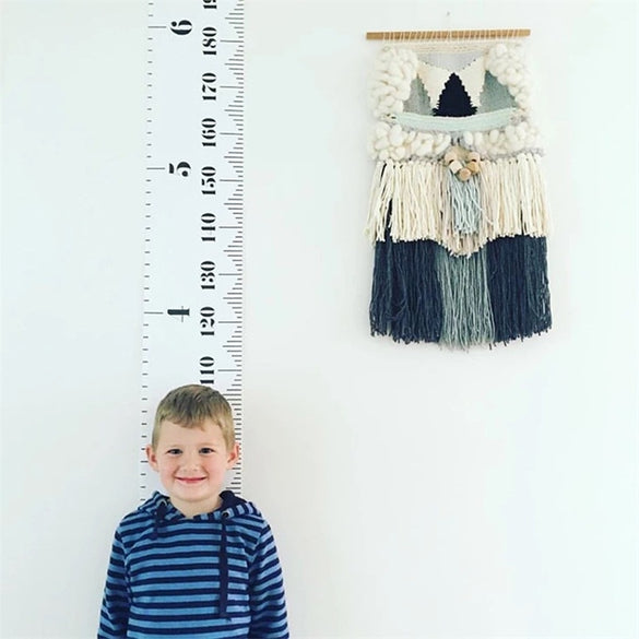 1pcs Simple Nordic Style Children 's Height Ruler Wall Hanging Type Height Measurement Home Decoration Wall Art Ornaments