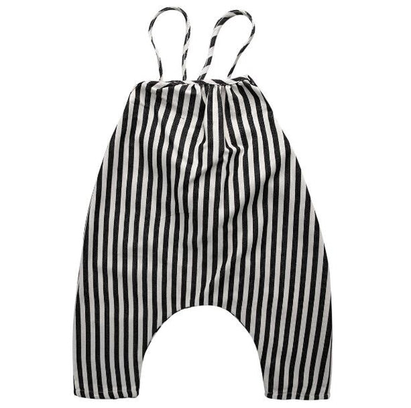 Cute Romper Overall Playsuits 0-4T Baby Girl Boy Toddler Striped High Quality Clothing Bib Pants Outfits