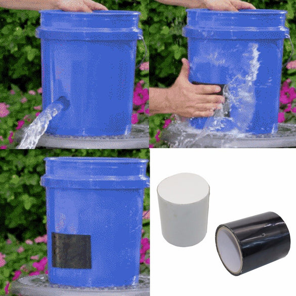 Super Strong Flex Leakage Repair Waterproof Tape for Garden hose pipe water tap Bonding Rescue quick repairing Quickly stop leak