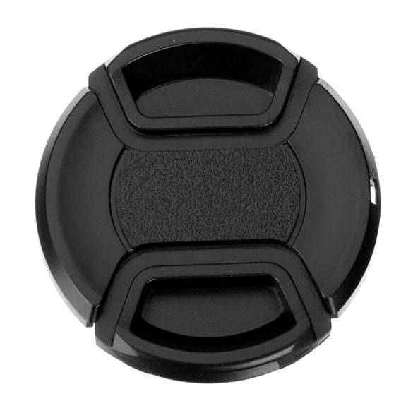 Universal DSLR Camera Lens Cap Protection Cover 52/55/58/62/67/72/77/82mm Lens Cover Provide Choose With Anti-lost Rope