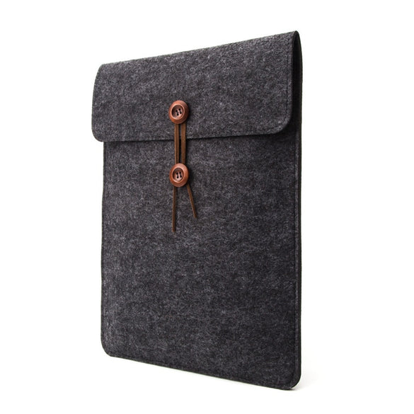 Wool Felt Laptop Sleeve Bag for Funda Macbook Air Pro Retina 11 12 13 15 Notebook Cover Case for Xiaomi Pro 15.6 Huawei Lenovo