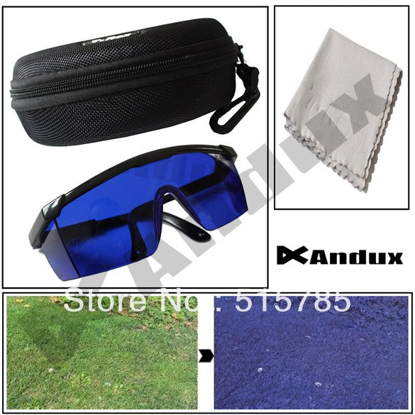 Andux Golf Ball Finder Professional Golf Accessories Lenses Glasses with Mould Cases Eyeglass Gl-2