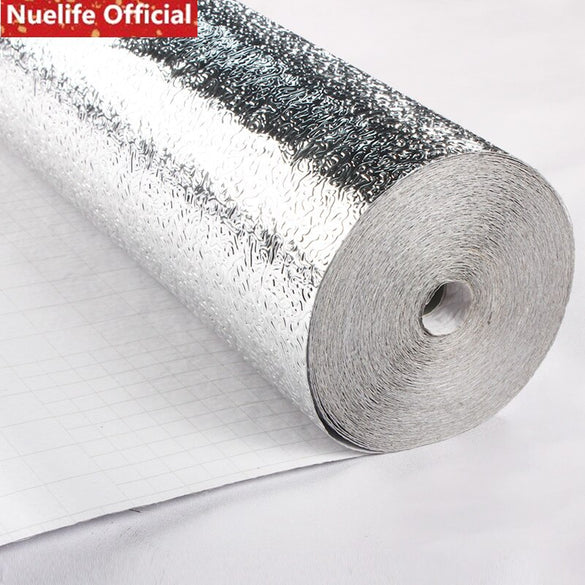 Self-adhesive thickening cabinet moisture-proof aluminum foil paper kitchen stickers tile high temperature stove tin foil paper