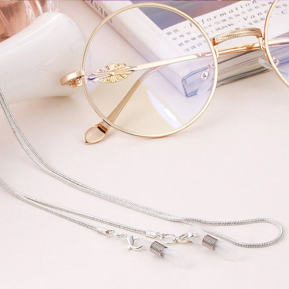 New Arrival Copper String Eyeglasses Chain Reading glasses Metal Cords Sunglasses Spectacles Holders Optical frames Rope  F0154