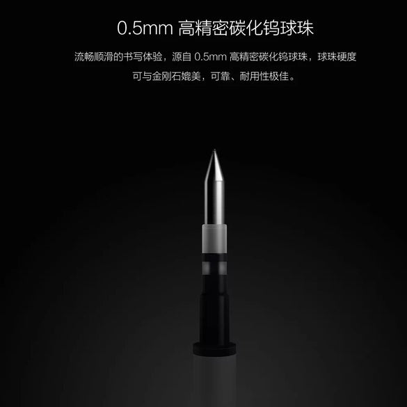 Original Xiaomi Mijia Sign Pens 9.5mm Signing Pens PREMEC Smooth Switzerland Refill MiKuni Japan Ink add Mijia Pens Black Refill