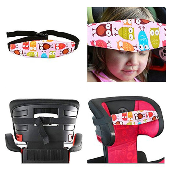 2 Pcs / Set Car Seat Safety Locator Baby Headrest Baby Carriage Bracket Modeling Children Carrying Adjustable Belt Fixing Tool