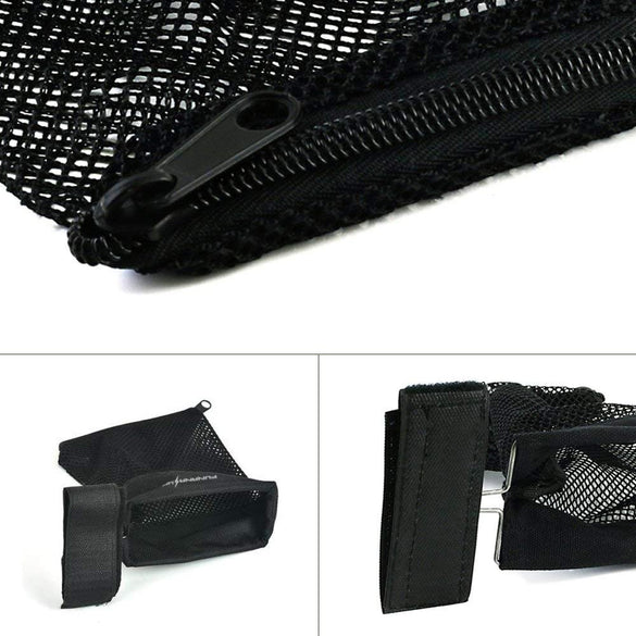 Tactical Rifle Brass Shell Catcher Zippered Closure Quick Unload Military Ammo Holster Pouch Hunting Accessories Nylon Mesh Trap