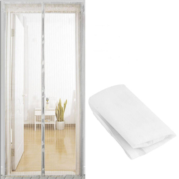 Summer Mesh Net Anti Mosquito Insect Fly Bug Curtain Automatic Closing Door Screen Kitchen Curtain 5 Size Drop Shipping
