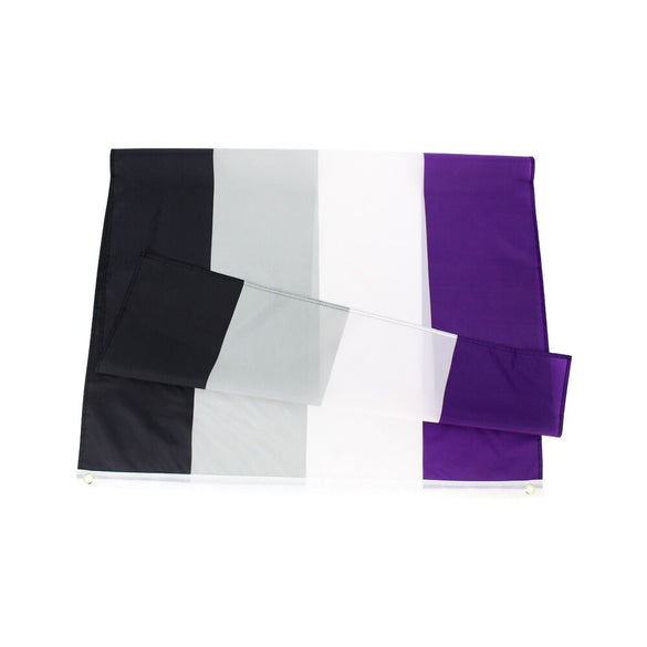 johnin 90x150cm LGBTQIA Ace Community nonsexuality Asexuality asexual pride Flag