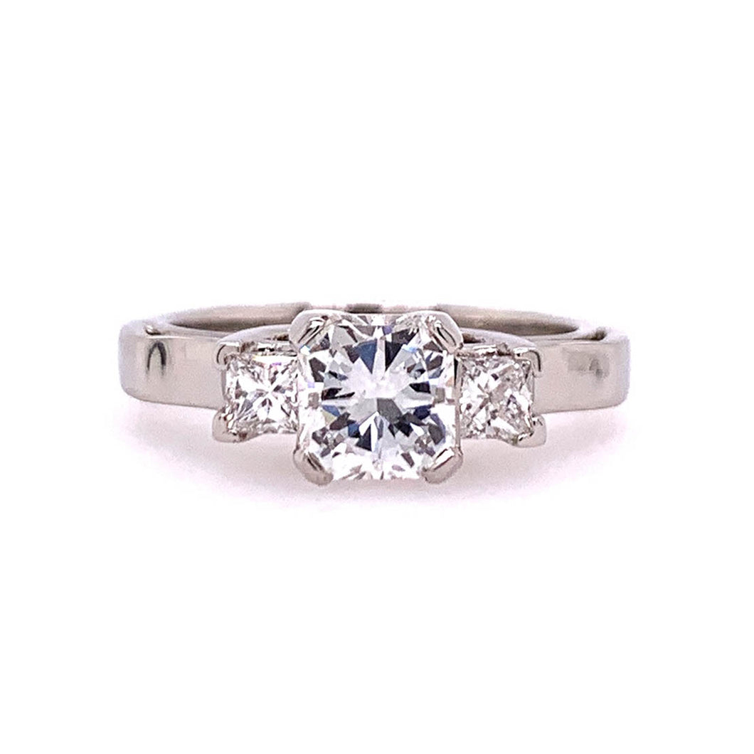 Vorie II- Radiant Engagement Ring