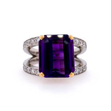 Load image into Gallery viewer, Amethyst Ring Bead Set