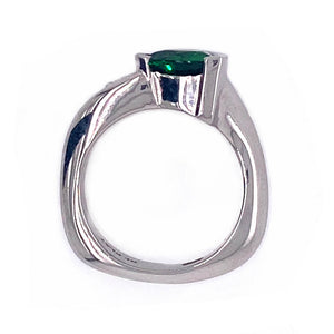Tsavorite Ring