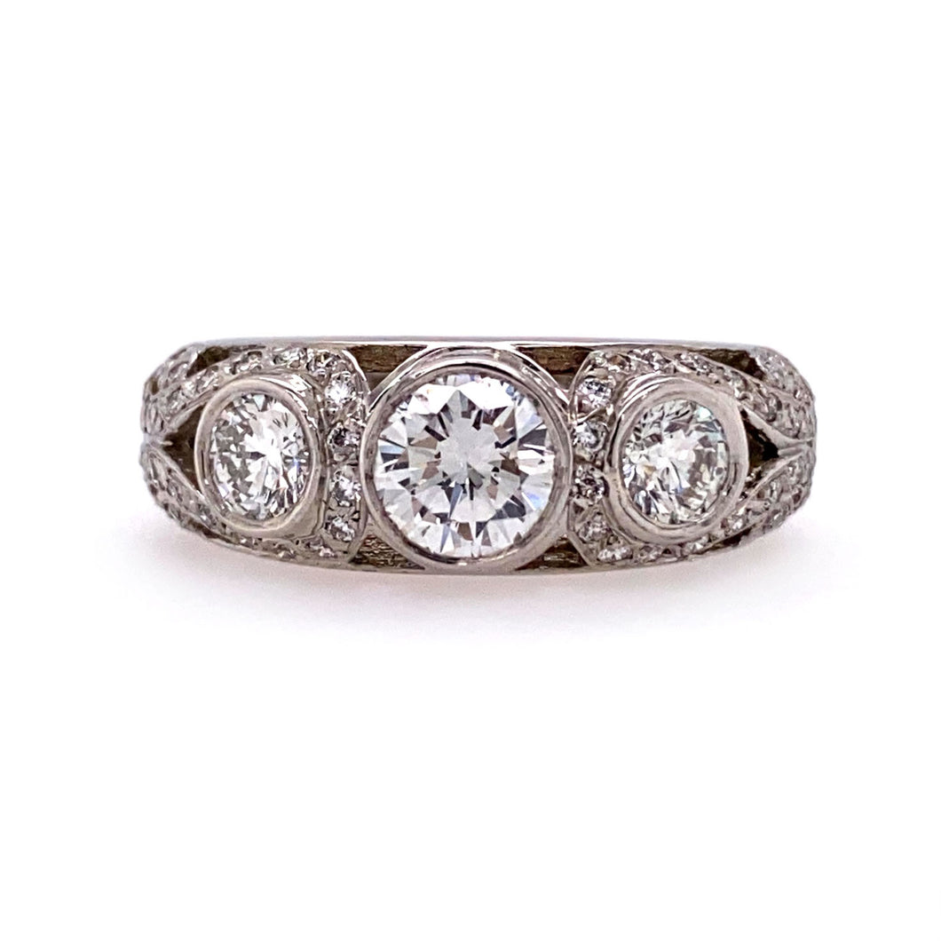 Florentine Diamond Ring