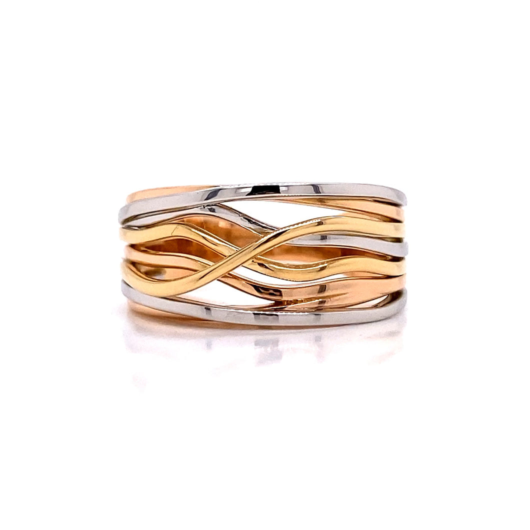 Tri Color Coaster Ring