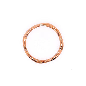 18kr Thick Twist Ring