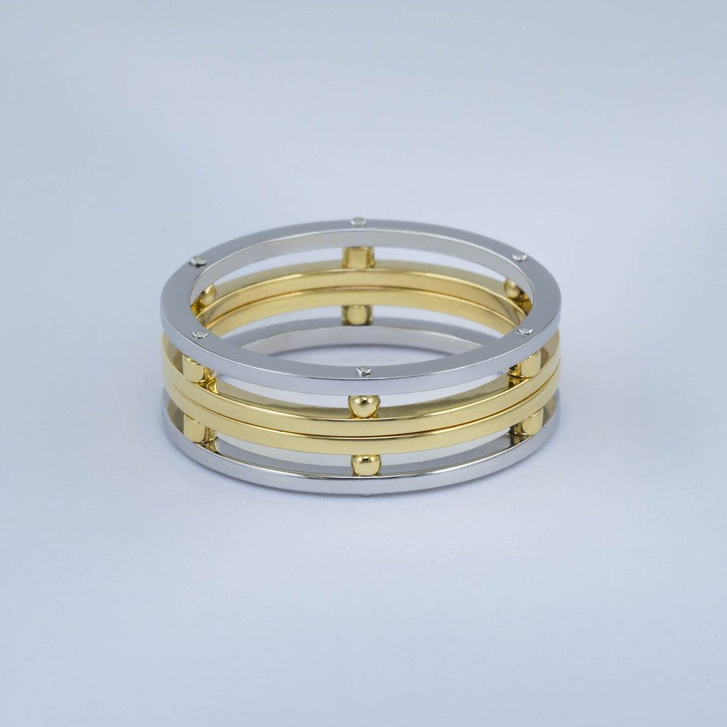 Men's Open Stacking Band Ring