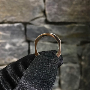 Hourglass Band Ring