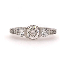 Load image into Gallery viewer, Antique Engagement Ring