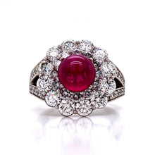Load image into Gallery viewer, Branchaud Style Ruby Cocktail Ring