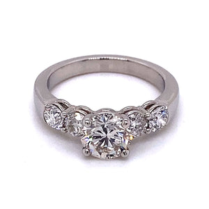 5 Stone Engagement Ring