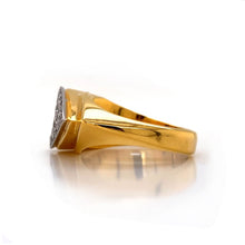 Load image into Gallery viewer, Men's Gold Arrow Ring