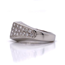 Load image into Gallery viewer, Elongated Pave Diamond Ring