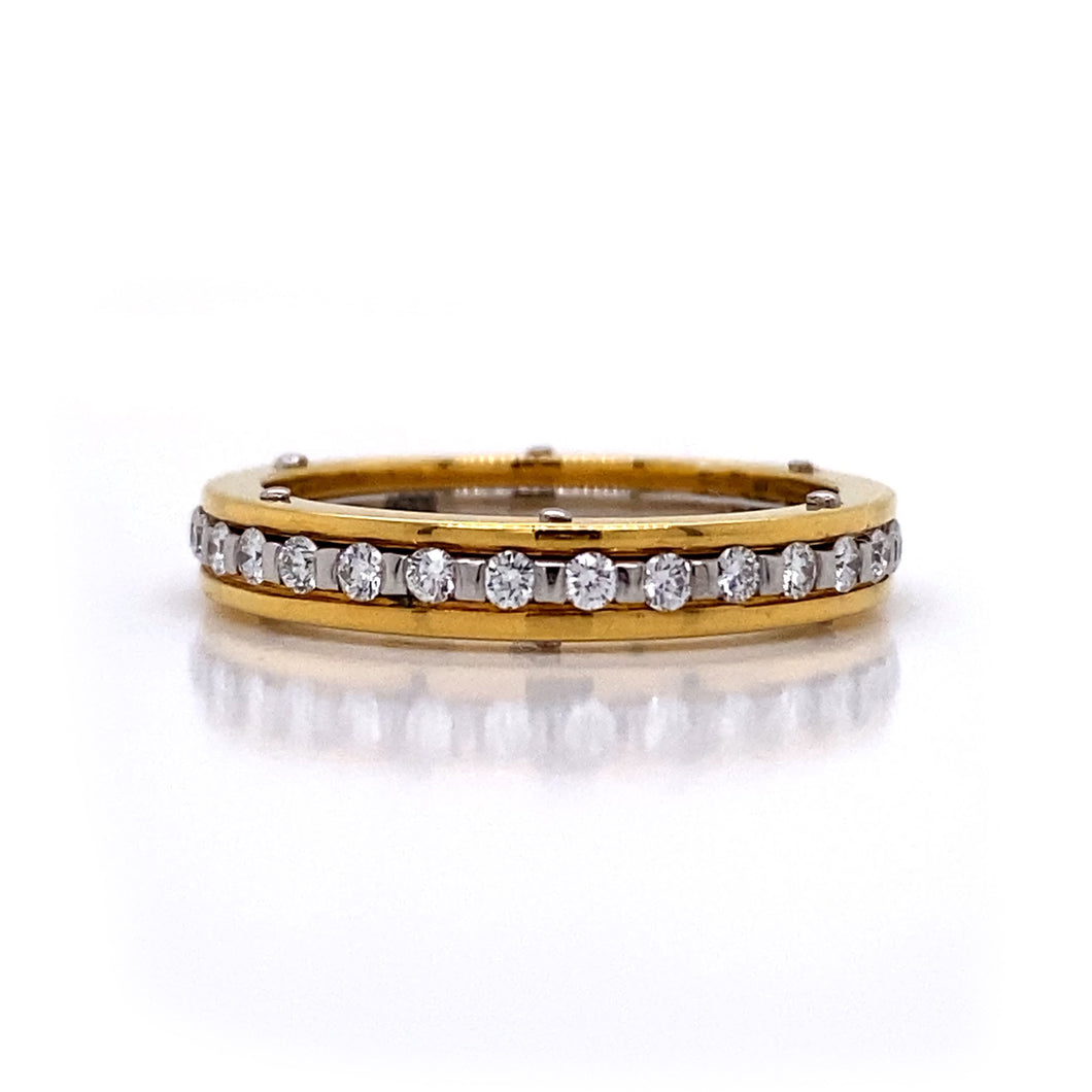 Stacking Eternity Band Ring