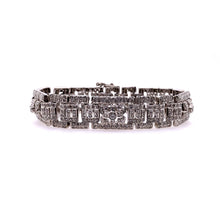 Load image into Gallery viewer, Art Deco Diamond Bracelet