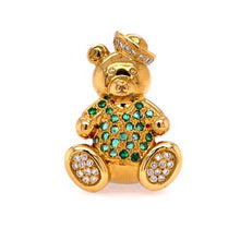 Load image into Gallery viewer, Emerald Teddy Bear