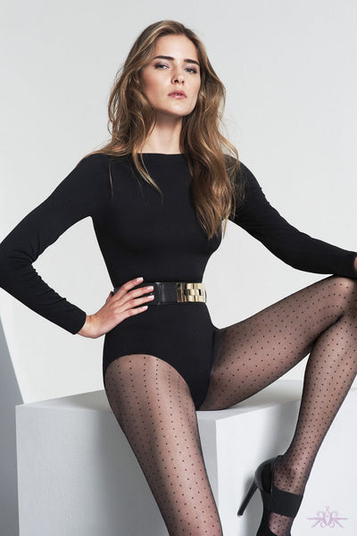 Oroblu Adele Polkadot Tights